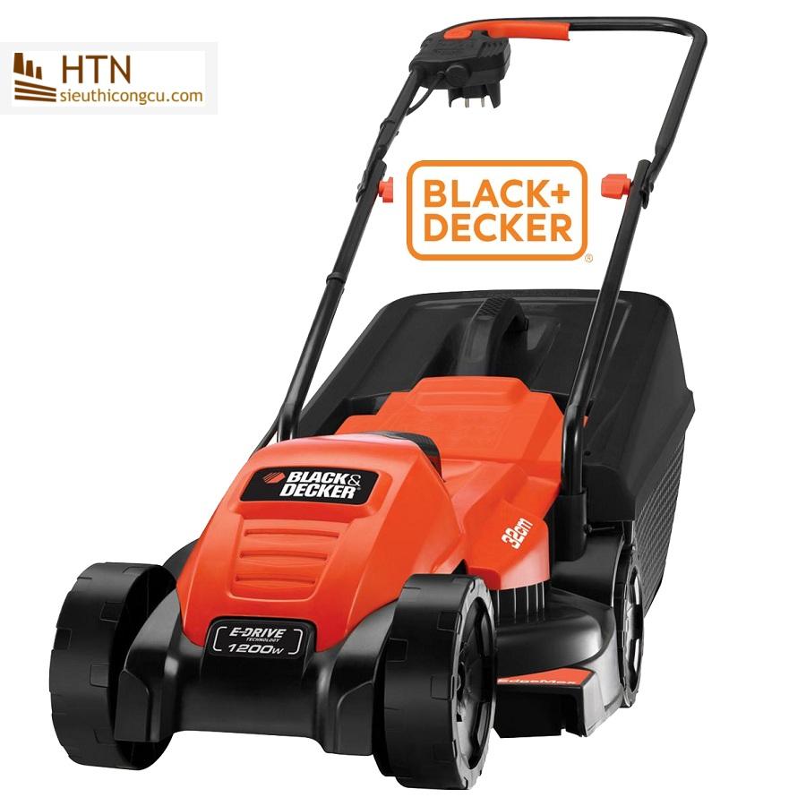 1200W Máy cắt cỏ xe đẩy Black Decker EMAX32N-B1 (NEW 2017)